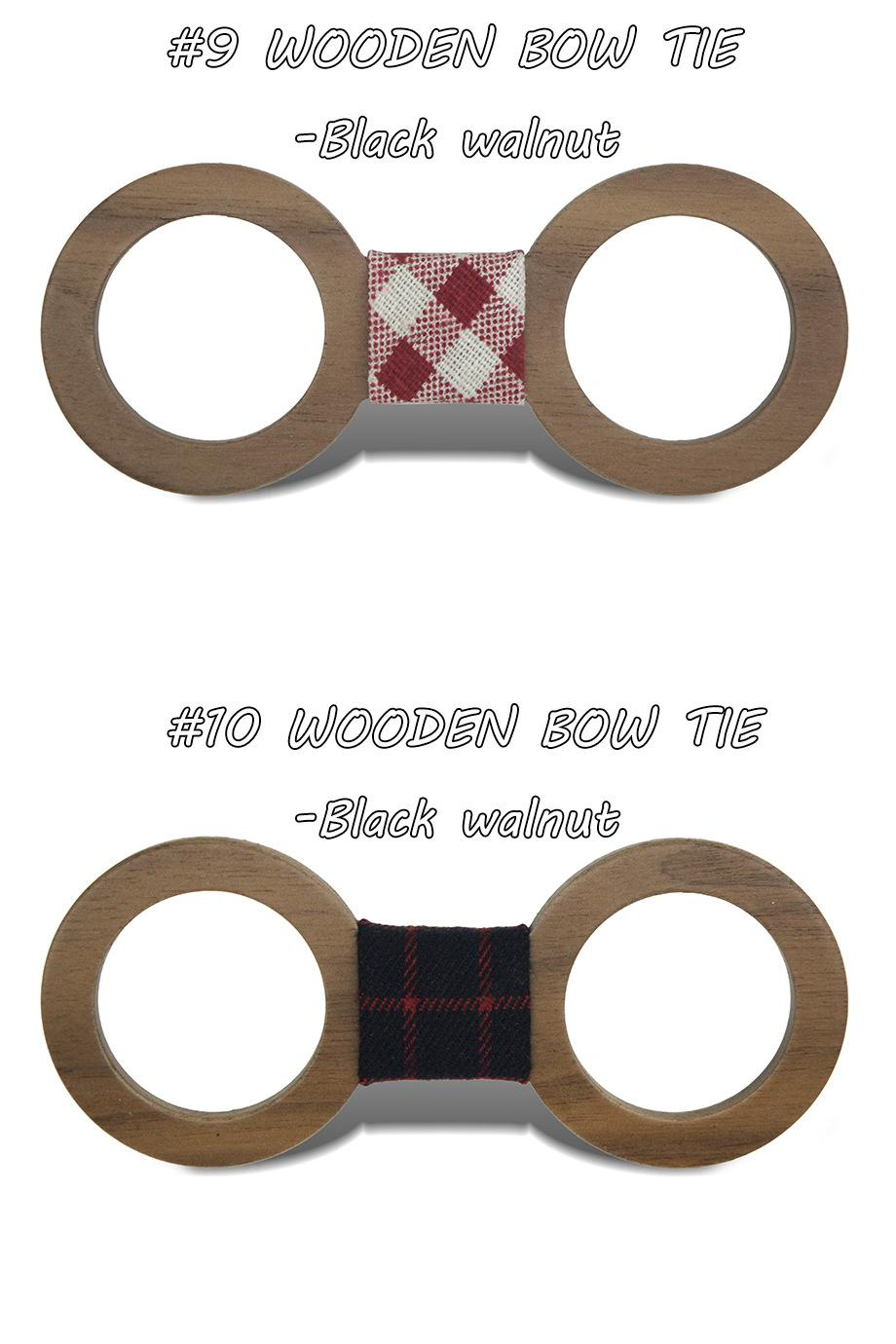 Glasses Wood Bowtie 20 styles Handmade Vintage Traditional carving Bowknot For business paty wedding Bow tie 12*5cm For adults