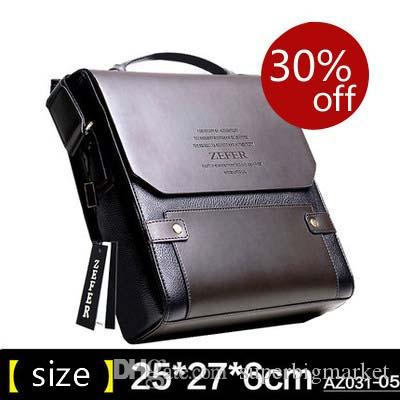acf86e5e787f ZEFER New Style Men S Bag Briefcase BUSINESS BAG PU Leather Cross Body Bag  Leather Bags Laptop Bags For Women From Superbigmarket