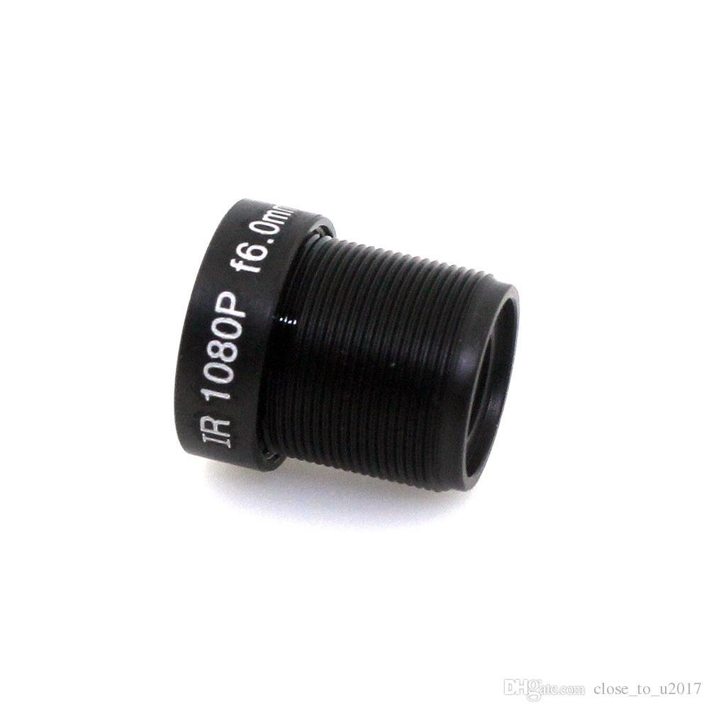 videocamera cctv di sicurezza f1.6 obiettivo 1080p m12 obiettivo telecamera cctv ip6.0mm cc 6mm lente ir