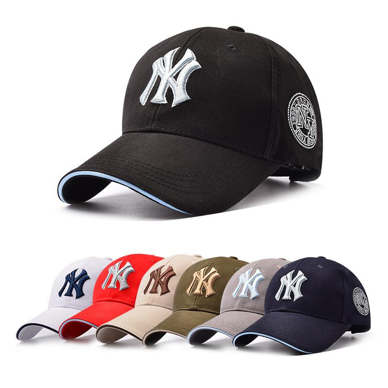 The New Free Mail 2017 NY Baseball Cap Men S Spring And Summer Outdoor  Sports Tourism Leisure Cap Female Breathable Sunshade Cap Men Hats Baby Sun  Hat From ... 97cdbf5ad