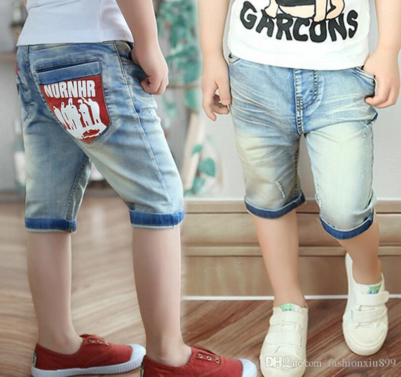 e911b3544222 Summer Children Shorts Causal Blue Color Baby Boy Jean Shorts For Boys Big  Kids Summer Denim Shorts Girl Summer Shorts Girl Black Shorts From  Fashionxiu899