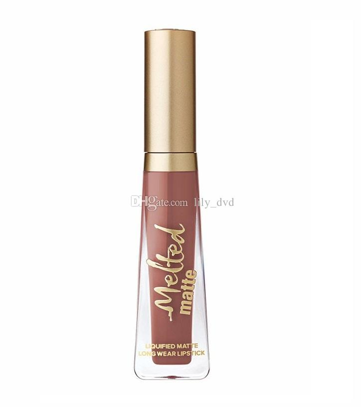 NEW ARRIVAL!!Cosmetics melted Matte Lipstick Makeup Lip Gloss different colors DHL