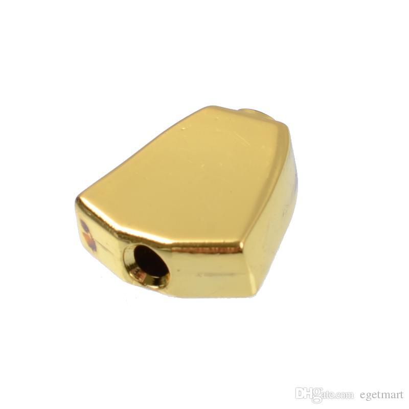 de Metal Guitar Tuning Pegs chaves Sintonizadores Máquina Cabeças de substituição Botões botões Punho Preto / Ouro / Chrome