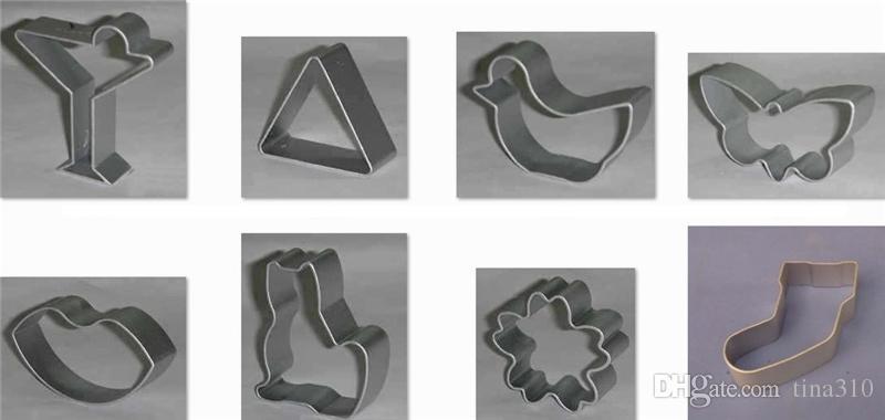 42 formen plätzchenform Aluminiumlegierung Niedlichen Ausstecher DIY Backschneider Keksform Kuchen Werkzeuge IC909