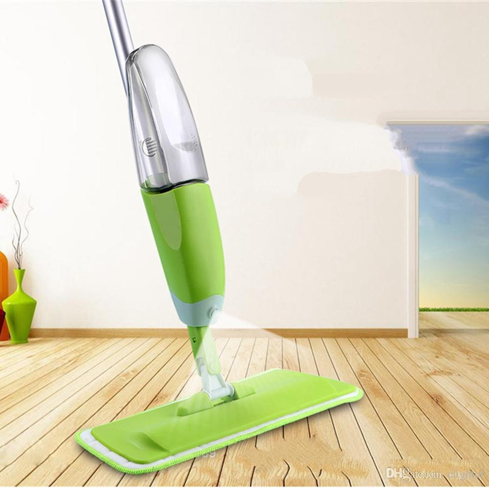 How To Clean Bathroom Floor Without Mop: 2019 Spray Mop High Quality Microfiber Cloth Floor Windows