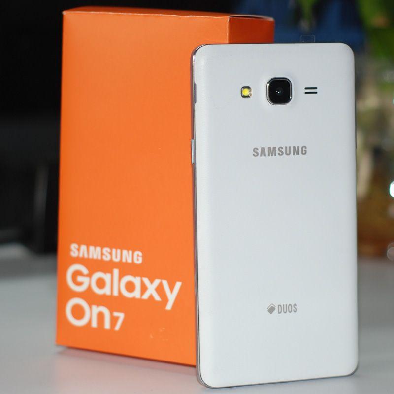 Remis à neuf Samsung Galaxy ON7 G6000 Smart Phone 5.5inch 16G / 8G ROM 13.0MP Quad Core 4G LTE