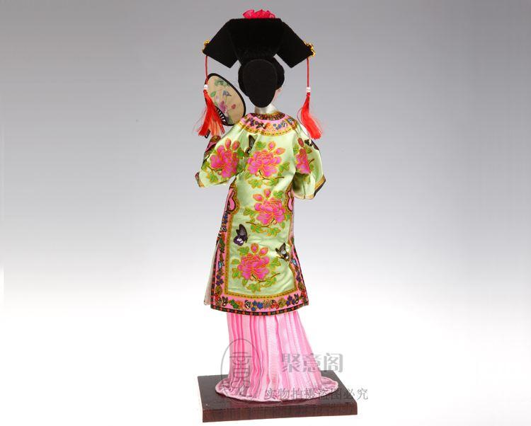 Genuine silk handicrafts Tang Fang Qing ornaments Home Furnishing foreign gifts 12 Inch Doll Princess Doll