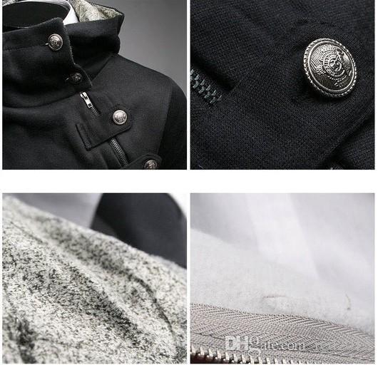 Wholesale-iユニークなネックレスパーカースウェットシャツパーカーメンズアサシンクリードスウェットグレージャケットスタンド春と秋