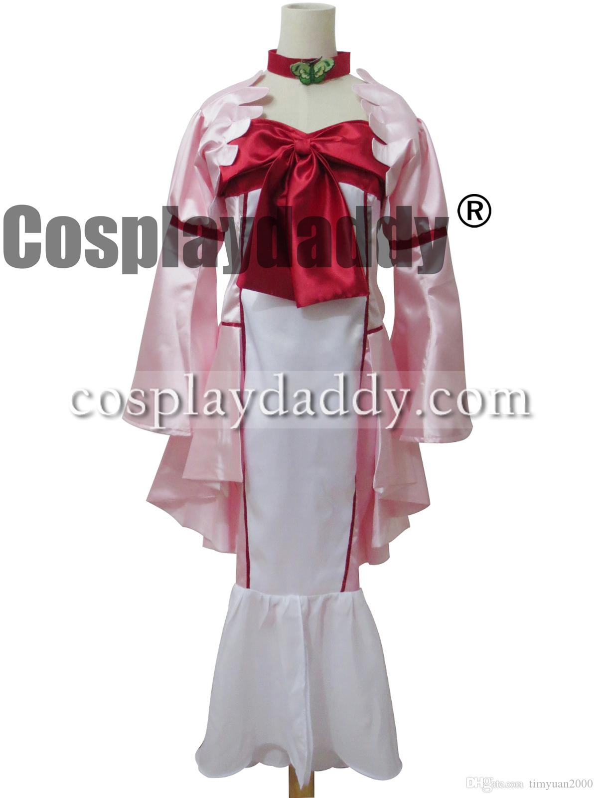 Code Geass R2 Cosplay Nunnally Costume Governor Dress