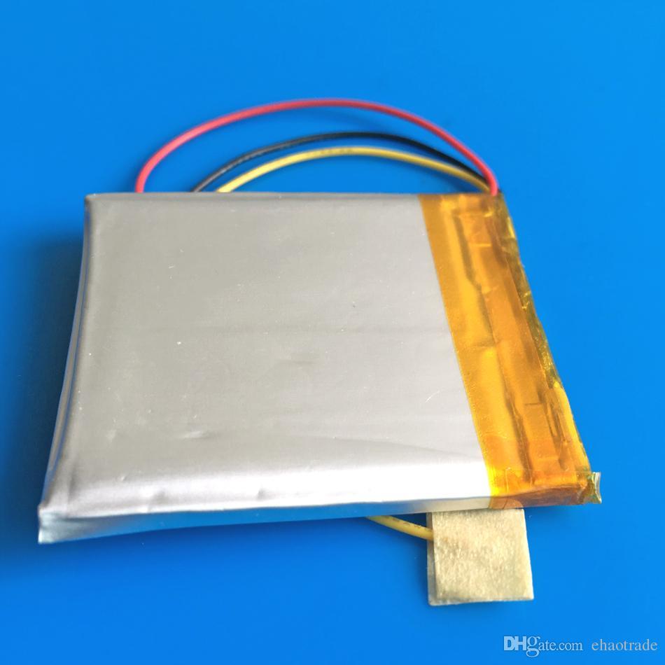 3.7 فولت 1000 مللي أمبير 504045 خلايا ليثيوم أيون قابلة للشحن بطارية ليثيوم أيون ل mp3 gps psp الجيب الكتب الإلكترونية بلوتوث مسجل القلم