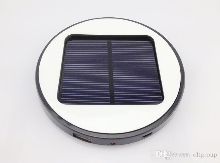OLEEDA Colorful Portable Battery Pack 1800mah Window Solar Battery Solar Charger Panel For Mobile Phone Tablet