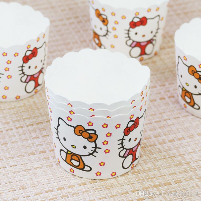 Flowers Animal Design Cupcake Wrappers High Temperature Muffin Baking Cups Greaseproof Paper Cupcake Liner
