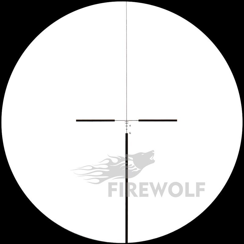 2017 Yeni Blacktan renk Taktik Avcılık Çekim Trijicon ACOG 4X32 Tüfek Kapsam B Paragraf Taktik Tüfek