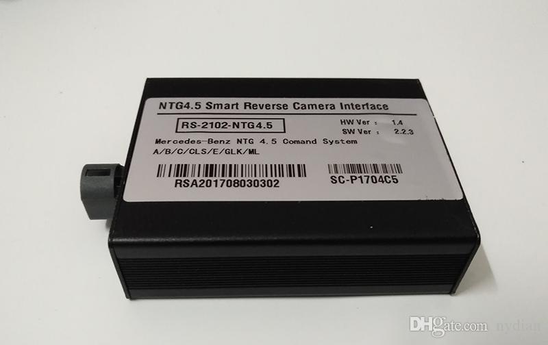 Интерфейс автомобильной камеры для Mercedes Comand Online NTG4.5 Audio 20 A B C E GL ML ML SL SL GLK CLS GLA SLK Class Parking Parking