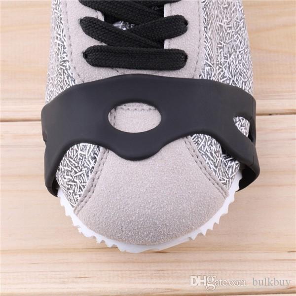 1 Çift Varış Anti Kayma Kar Buz Tırmanışı Spike Sapları Krampon Cleats 5-Stud Ayakkabı Kapak toptan
