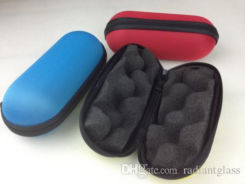 캡슐 colletion 유리 파이프 케이스 최고의 기본 하드 케이스 다채로운 담배 흡연 파이프 가방 맞는 2-5.5 인치