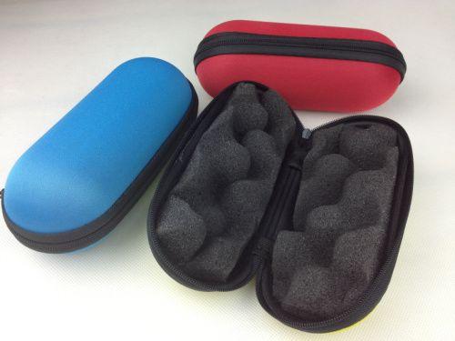 Kapsül colletion cam boru durumda en iyi temel zor durumlarda renkli tütün sigara boru çanta fit 2-5.5 inç