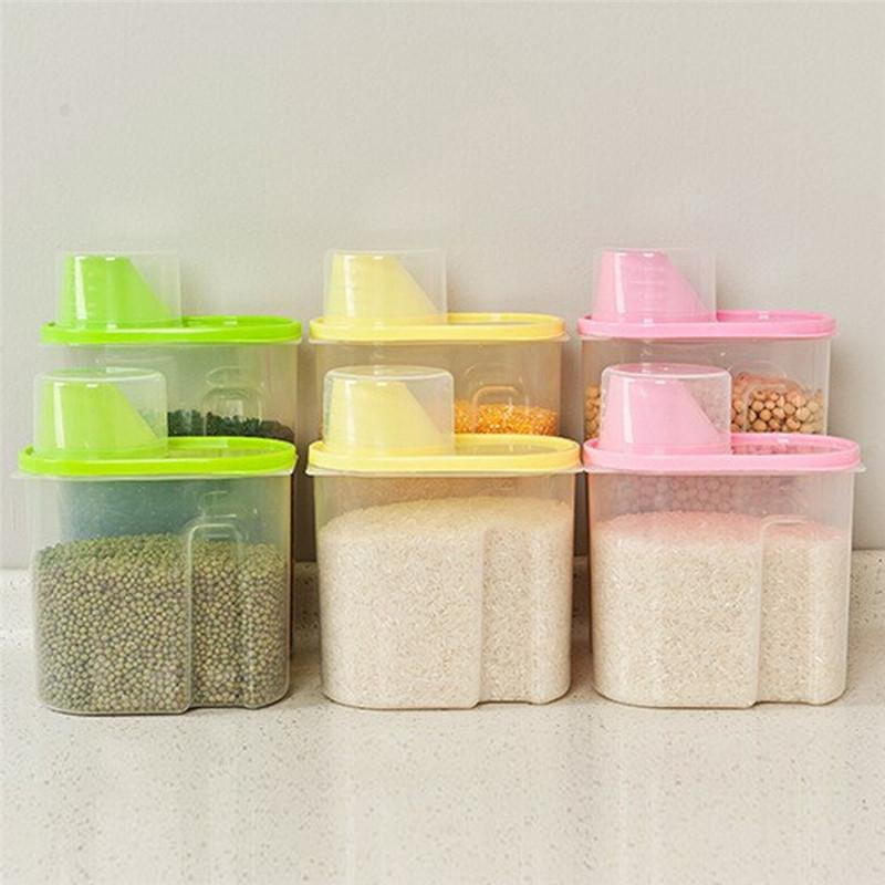 Food Grain Plastic Storage Box Containers Gallery