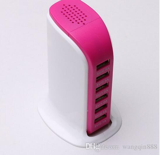 2.0USB socket charger charger lights display more quickly