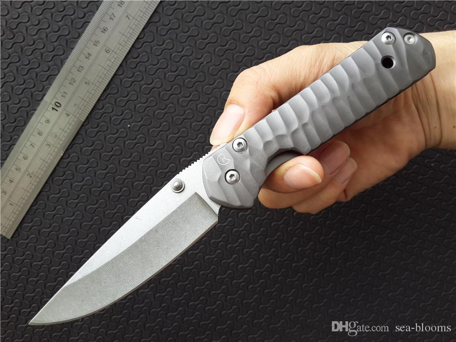 Крис Рив ножи КР большой Sebenza 21 440C стали stonewash обычная клип точка EDC папка складной нож не Титан