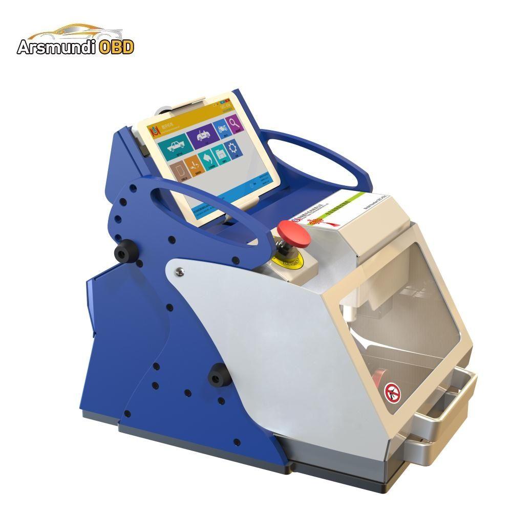 Nuevo 2019 DHL Envío Gratis Auto Locksmith Tool SEC-E9z CNC máquina automática de corte de teclas Multi idioma Portugues italiano ruso versión