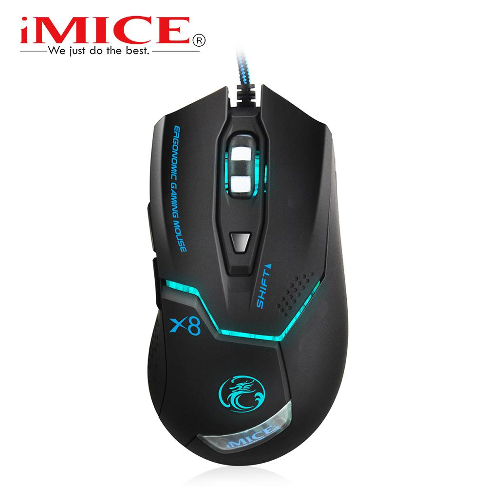 2018 Wired Gaming Mouse X8 Professional 3200dpi Usb Optical Mouse ...