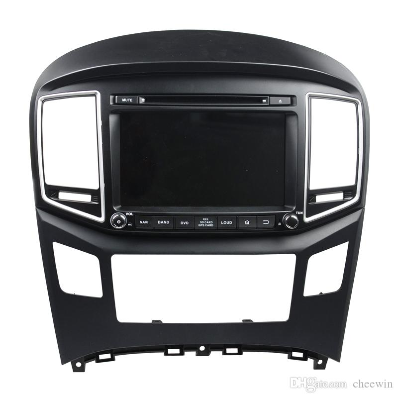 Meilleur prix 8 pouces lecteur DVD de voiture android 5.1 OS pour Hyundai H1 2016 avec GPS, contrôle du volant, Bluetooth, Radio