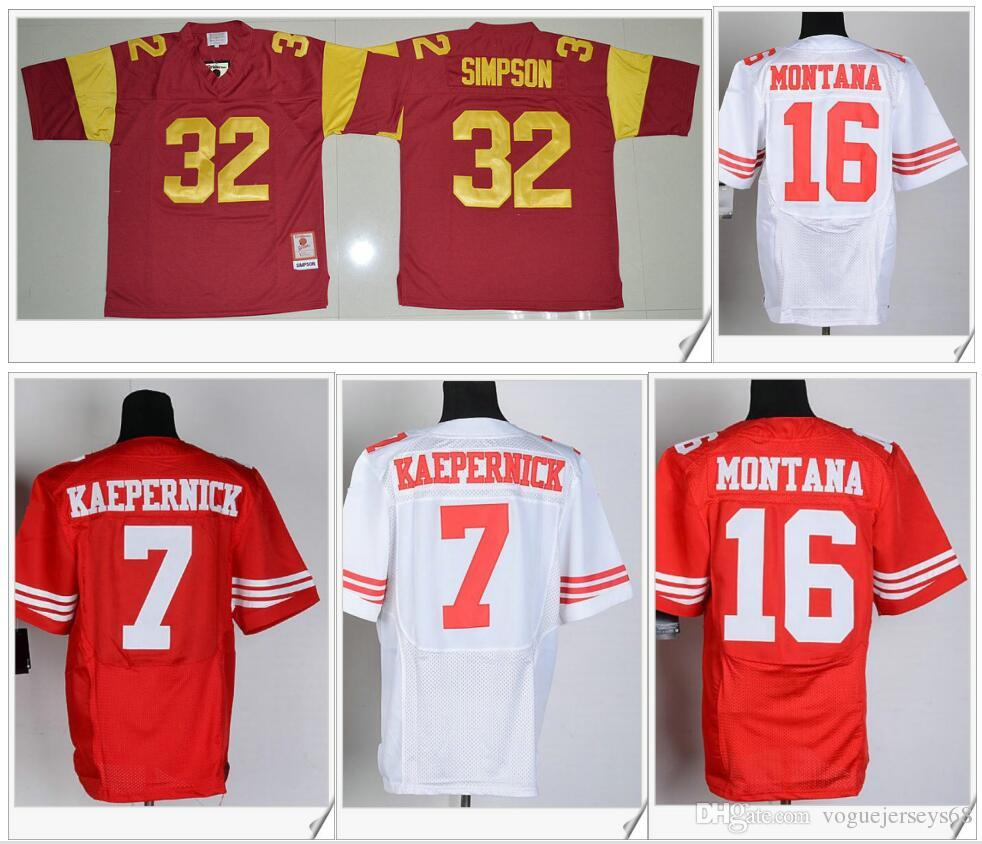 sneakers for cheap 36b89 eef38 low cost usc trojans 32 o.j simpson red throwbck jersey ...