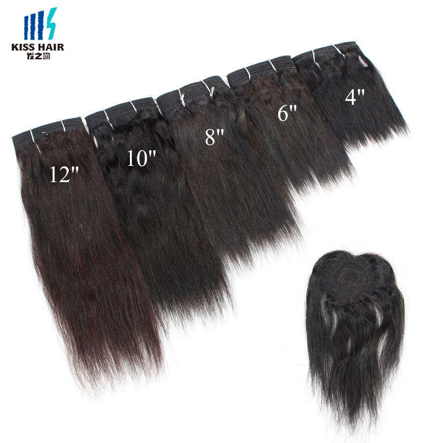 Tessuto capelli di colore piano P1b / 30 P27 / 30Blonde capelli umani brasiliani umidi ed ondulati Stile di capelli corti Baci bagnati