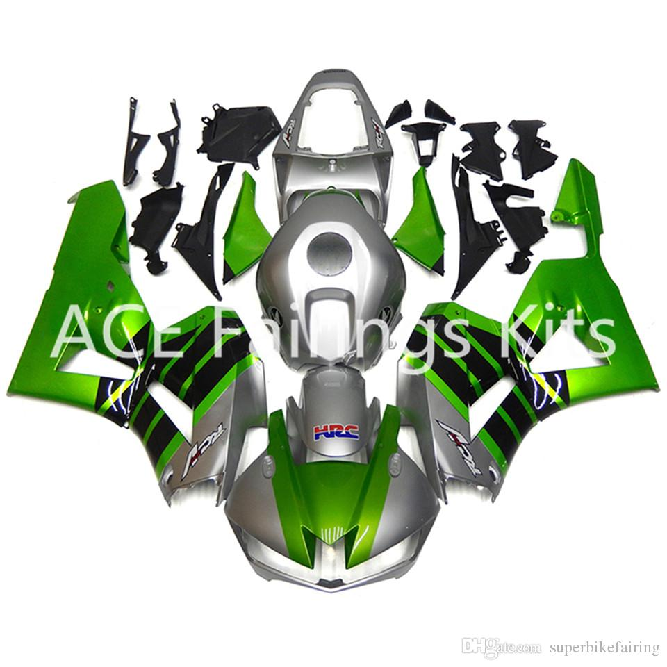 3 free gifts For Honda CBR600RR F5 13 14 15 16 CBR600RR 2013 2014 2016 Injection ABS Motorcycle Fairing Kit Green silver ASW3