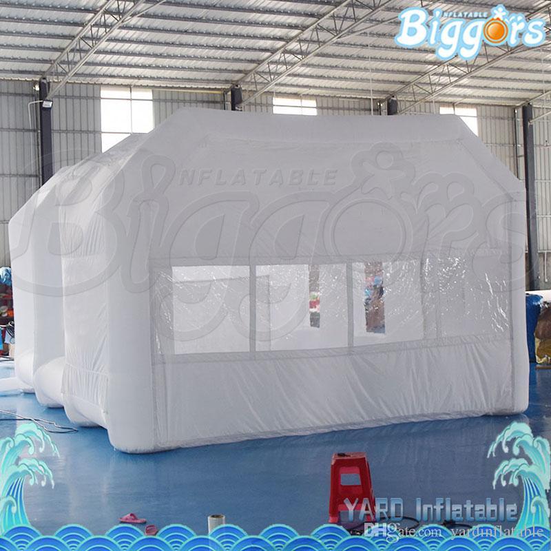 EN14960 인증 휴대용 저렴한 가격 자동차 스프레이 부스 풍선 스프레이 페인트 텐트