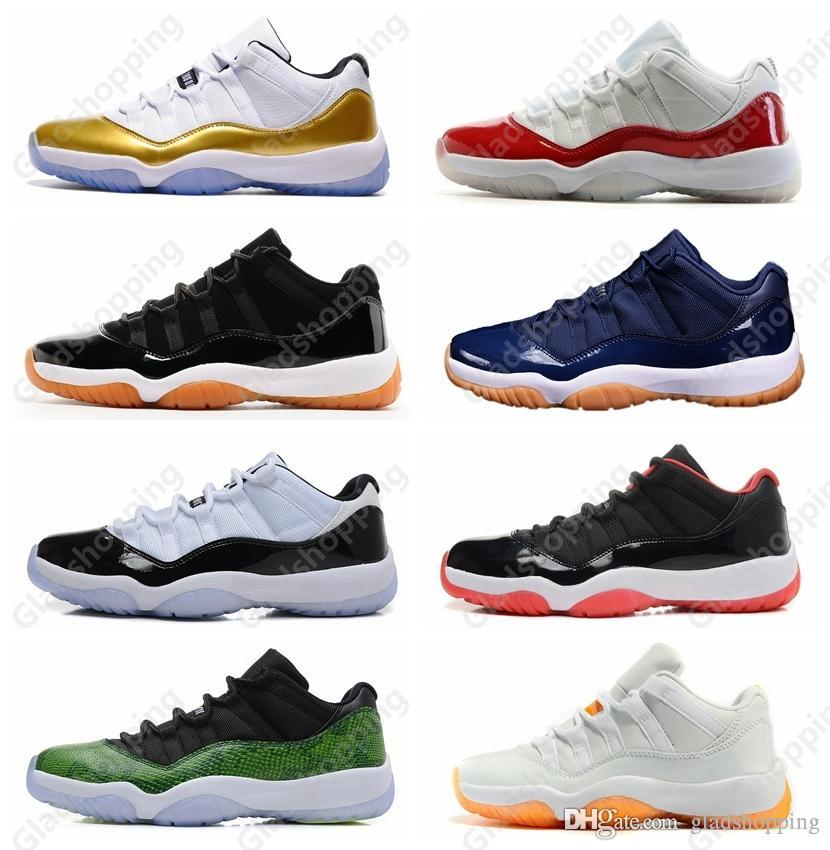 the best attitude c10d9 655b2 11 Low Closing Ceremony Olympic Metallic Gold White Red Cherry Navy Gum  Concord Basketball Shoes Sneakers Women Men 11s Lows XI Sports Mens  Sneakers ...