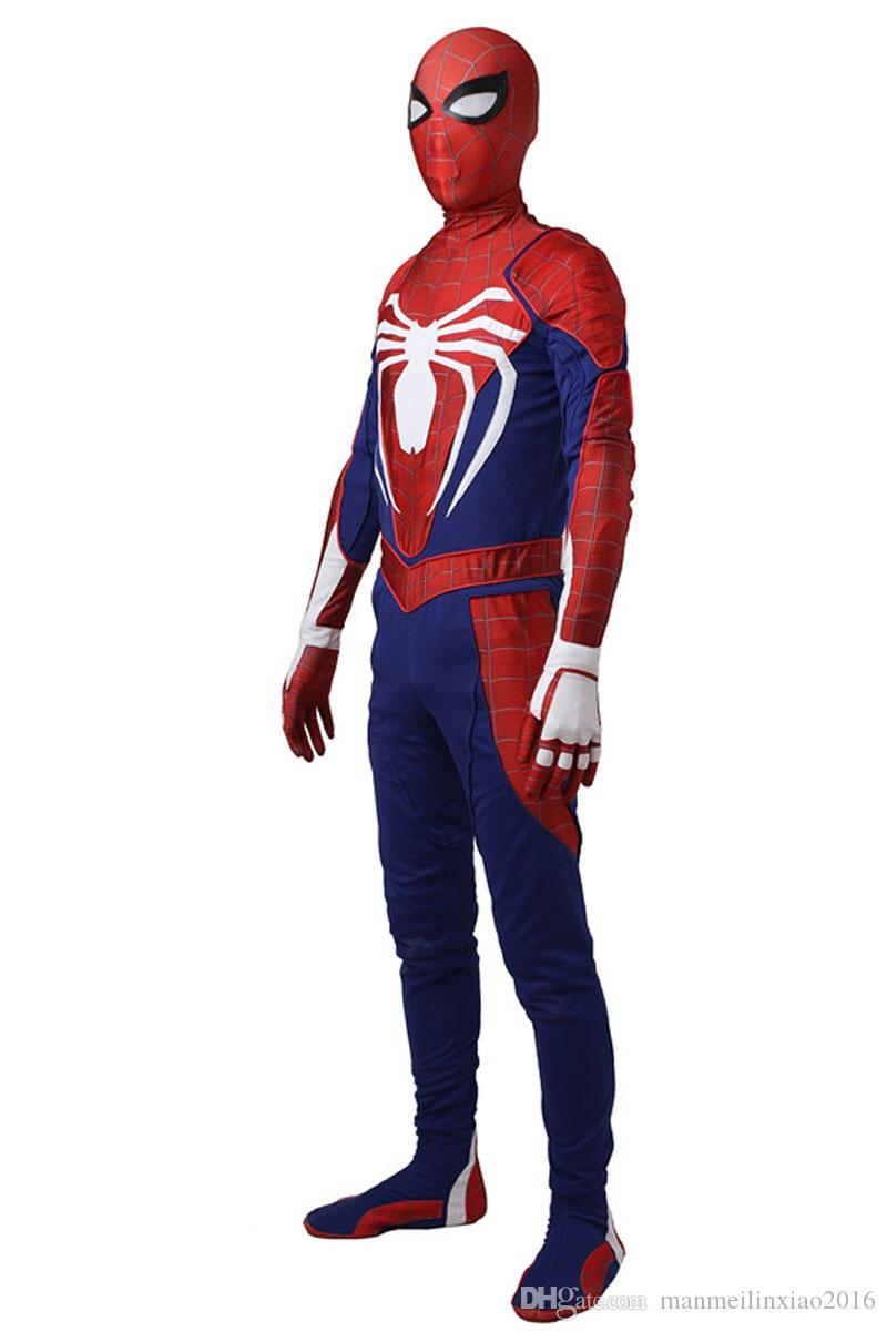 2017 Newest High-quality Raimi Peter Benjamin Parker Spider-Man Cosplay Costume Zentai Jumpsuit Customize Unisex Any Size
