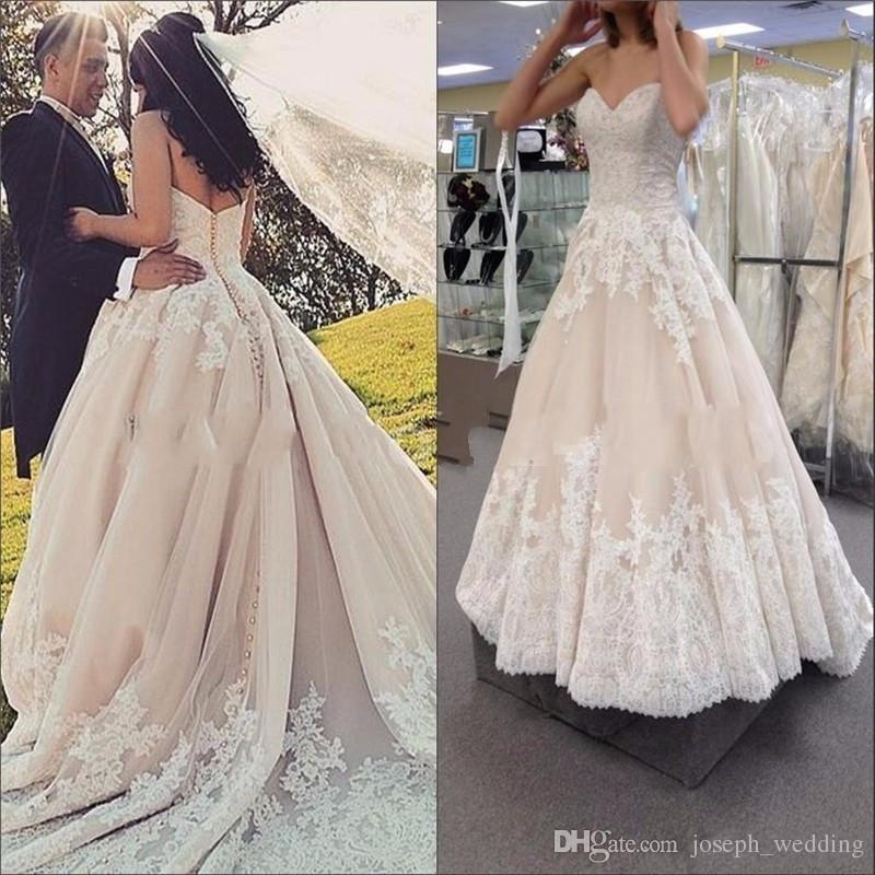 Discount Designer Wedding Gowns: Cheap Wedding Dress Vestido De Noiva Vintage 2019 New