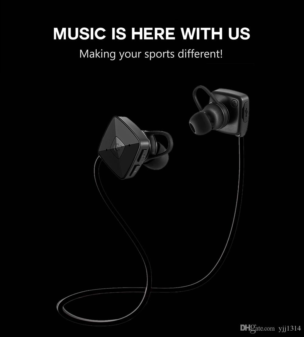 M3 Bluetooth Earphone Earbuds V4.1 Stereo Headset Bass Earphones with Mic In-Ear outdoor Sports Wireless for iPhone 7/6
