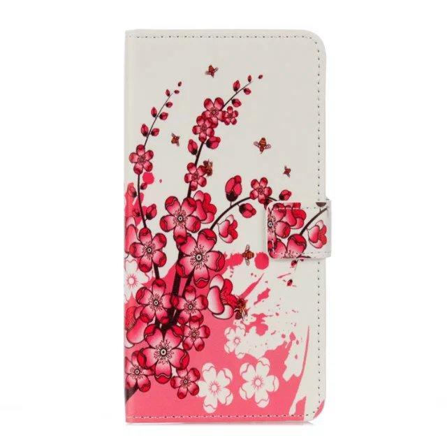 Para Huawei Honor del compañero 9 Mate9 6X Samsung Galaxy J2 J5 primer A3 2017 A3200 A5 2017 A502F estuche de cuero carpeta del tirón TPU de la bandera de la bolsa de la cubierta del soporte