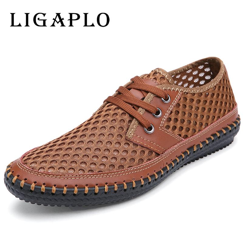 709e59732 Wholesale Men S Slat Shoes New Hollow Out Breathable Cowhide 2016 Summer  Genuine Leather High Quality Fashion Shoes Men Male Casual Shoe Italian  Shoes Cute ...
