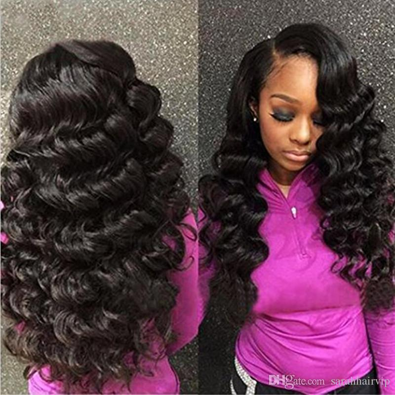 Peruvian Loose Wave With Closure Bundles With Closure 9A Peruvian ...
