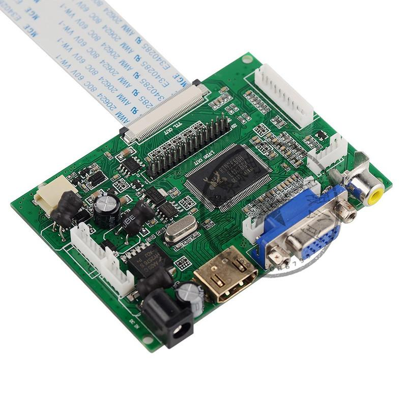Ultra HD 10.1 pollici 1280 * 800 EJ101IA-01G Raspberry Pi Schermo LCD Monitor TFT con HDMI VGA Ingresso Scheda di controllo del controller