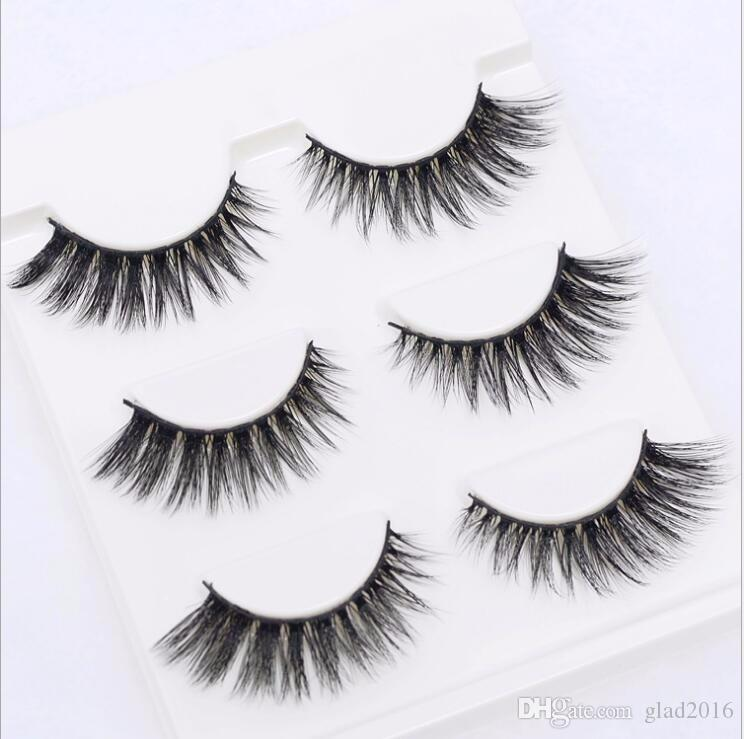 /box Sexy 100% Handmade 3D mink hair Beauty Thick Long False Mink Eyelashes Fake Eye Lashes Eyelash High Quality 3D-05
