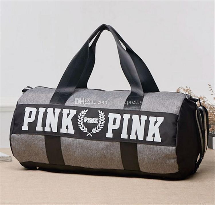 Pink Victoria Handbags Duffel Bags Vs Love Pink Large Capacity ...