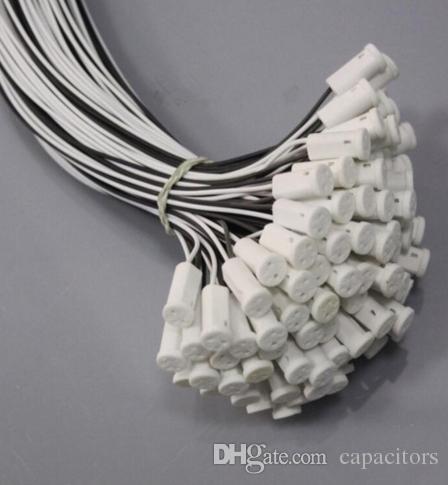 G4 Base Crystal Bulb Lamp Halogen Bulb Ceramic Socket Lampholder Plug