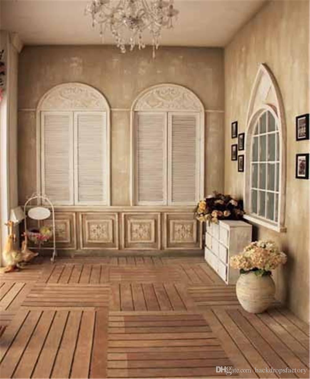 Compre Sala Interior De Casamento Foto Vinil Fundo Janelas