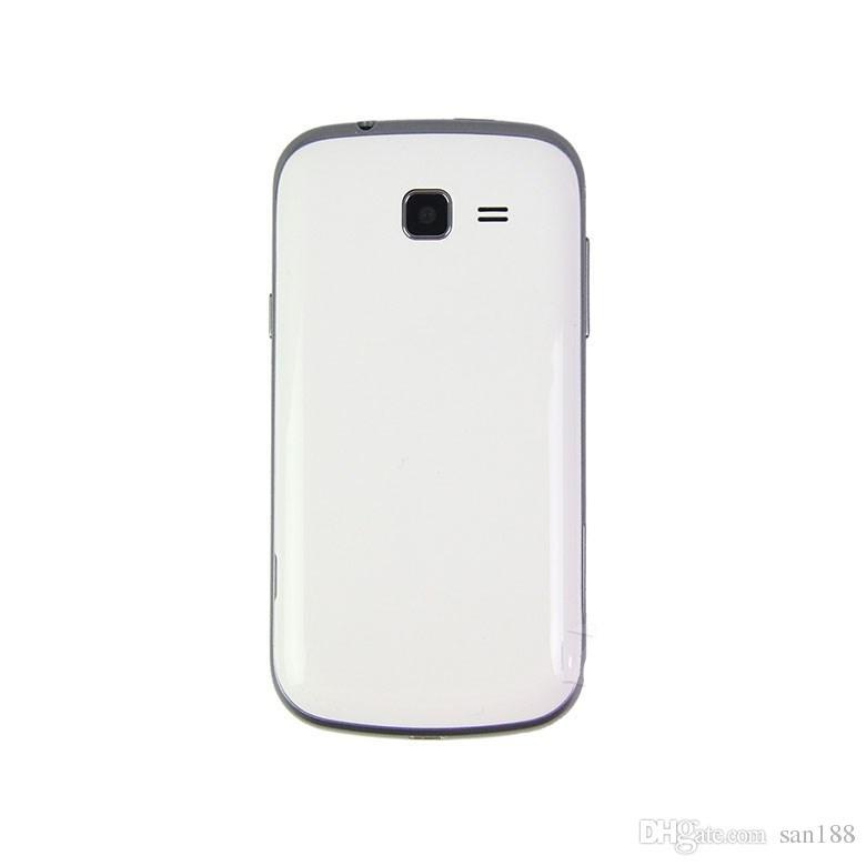 Dual core 3G WCDMA 4G Rom 3MP bar teléfono desbloqueado Cámara Android por 4 pulgadas S7572 teléfono celular teléfono inteligente con WIFI GPS