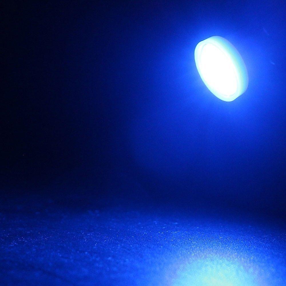 50 قطع سيارة 194 T10 CW1 أدى ضوء المصابيح الأزرق 8K 1W 2825 W5W 168 Wedge خريطة الترخيص