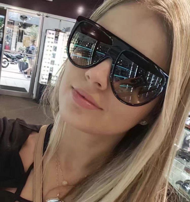 Women THIN SHADOW CL 41435/S Black Shaded Sunglasses Brand ...