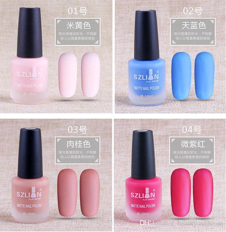 The New Manicure Matte Matte Texture Matte Lasting Nail Polish Can ...