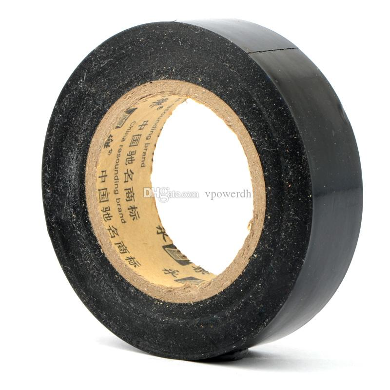 20m Vinyl Electrical Tape PVC Flame Retardant Adhesive Black M00081 VPRD