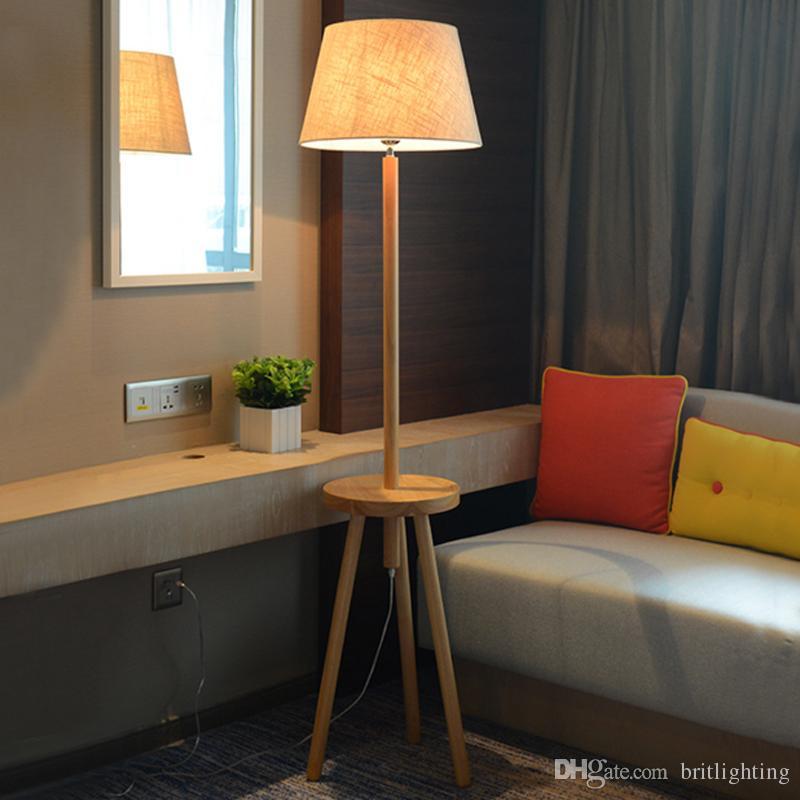 Lampadaire simple moderne salon chambre salle à manger salle à manger  nouveau style chinois créatif LED trépied vertical lampadaire éclairage