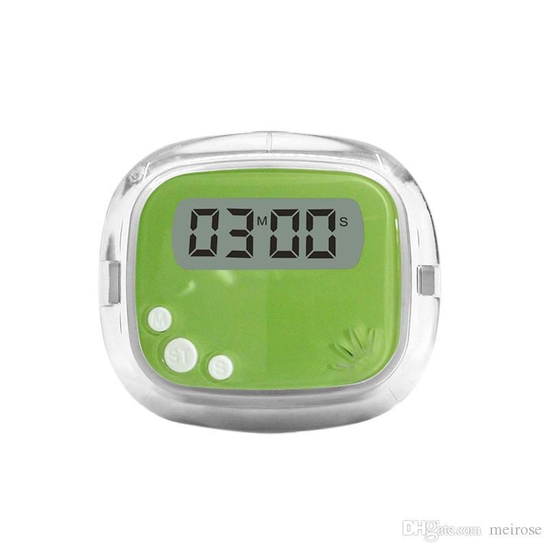 2017 Dernière nouvelle minuterie d'alarme magnétique LCD Cuisine numérique Cuisine Minuterie de cuisine Compte à rebours d'alarme minuterie magnétique Code de produit: 85-1010A